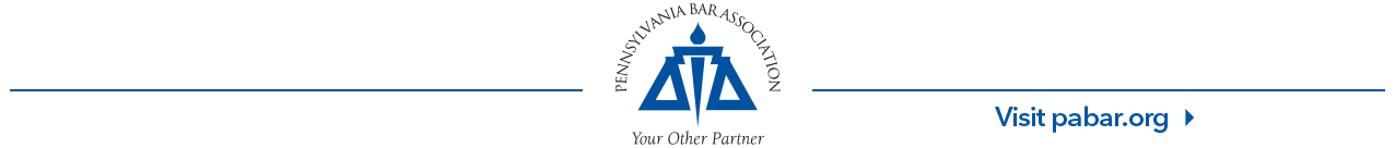 Pennsylvania Bar Association - pabar.org